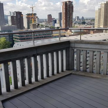 balkon vlonders amsterdam