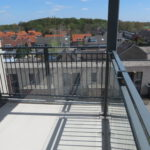 Vloer balkon beglazing