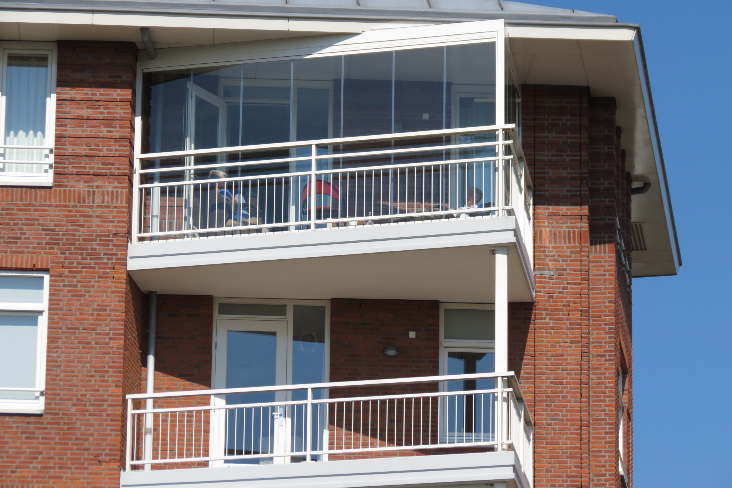 Balkon afschermen - Balkonbeglazing | Balkontotaal.nl
