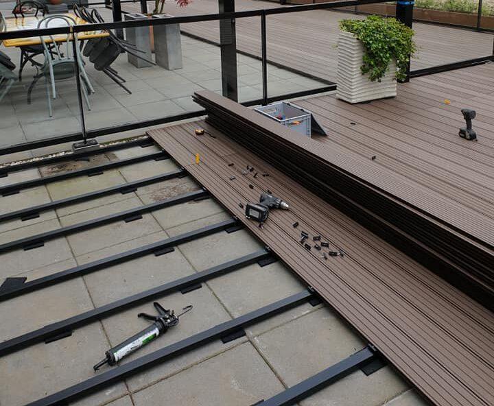 ophoogsystemen balkonvloer