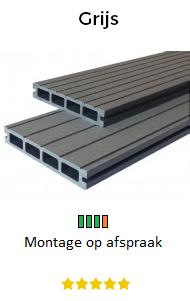 Balkon vlonders grijs | Balkontotaal.nl