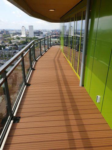 balkonvloer met hoeken